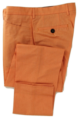 Equipage - Bright Orange Cotton Pants