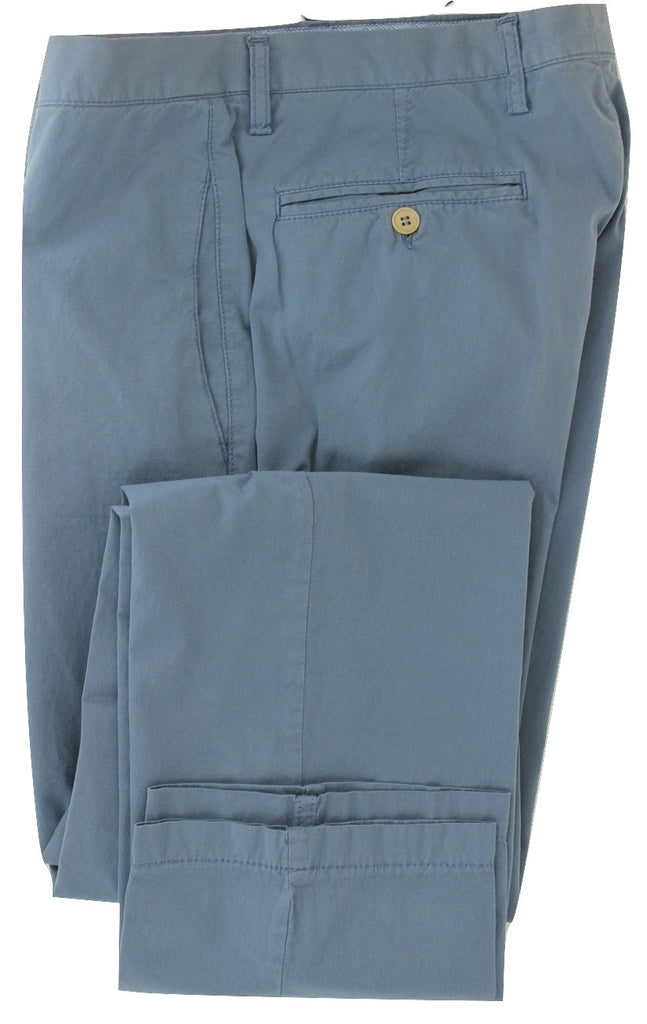 Marco Zanini - Blue Washed Light Cotton Pants - PEURIST