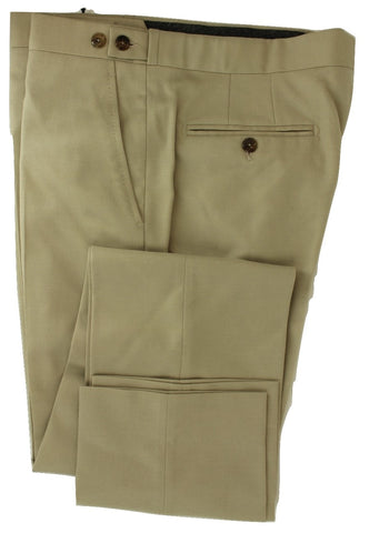 Equipage - Tan Wool Flannel Pants