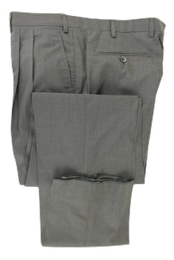 Covo & Covo Milano - Dark Charcoal Four Season Wool Pants, Double-Pleat