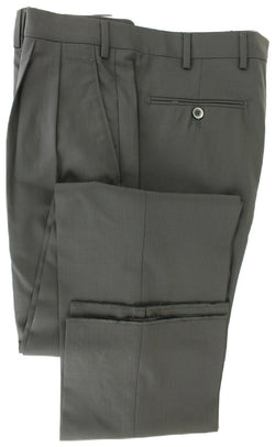 Covo & Covo Milano - Dark Navy Four Season Wool Pants, Double Pleat