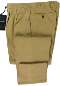 Made in Italy - Cotton/Cashmere Canvas Khakis