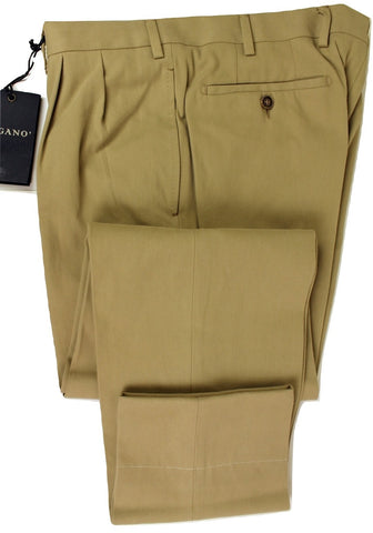 Vigano - Cotton/Cashmere Canvas Khakis - PEURIST