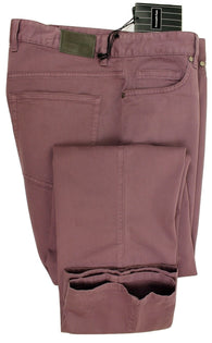 Ermenegildo Zegna - Faded Purple 5-Pocket Chinos