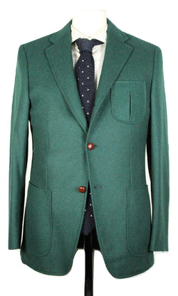Paul Stuart – Forest Green Heavy Wool Blazer