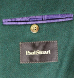 Paul Stuart – Forest Green Heavy Wool Blazer - PEURIST