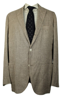 Boglioli – Brown Linen/Wool/Silk Blazer