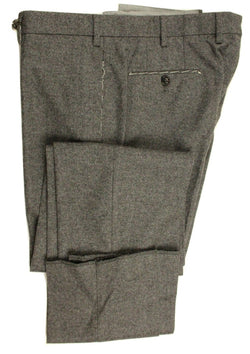 Vigano – Charcoal Wool Flannel Pants - PEURIST