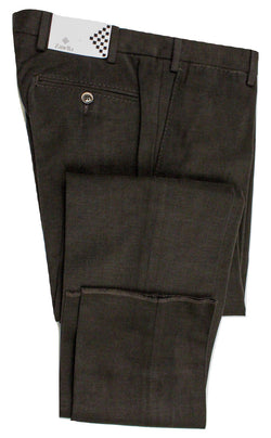 Zanella – Dark Brown Cotton Moleskin Pants