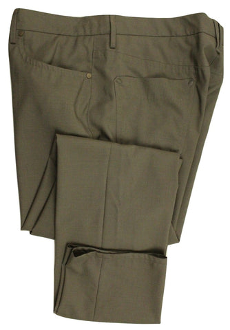 Incotex - Gray Five-Pocket Light Wool Pants - PEURIST