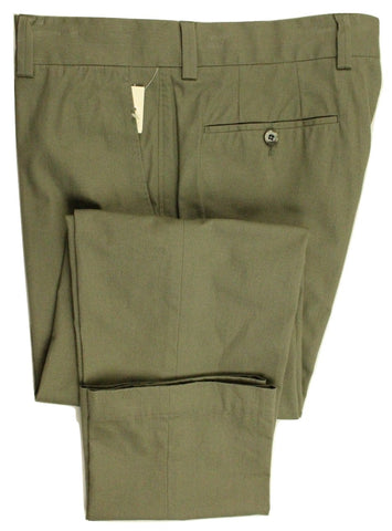 GTA – Faded Green Cotton Pants - PEURIST