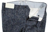 Tavola by Vigano – Navy & Gray Boucle Wool Pants - PEURIST