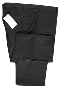 Luciano Barbera – Black Wool Twill Pants - PEURIST