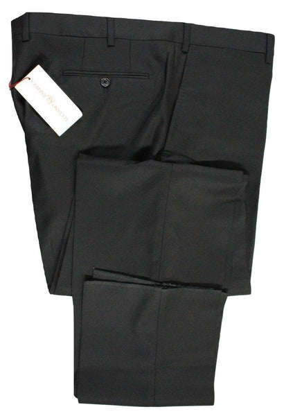 Luciano Barbera – Black Wool Twill Pants