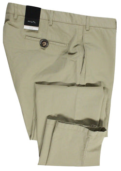 Hiltl – Beige Washed Cotton Chinos - PEURIST