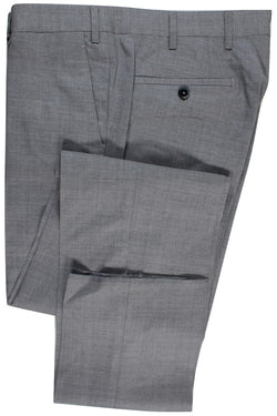 Tavola by Vigano – Gray Lightweight Wool/Silk Pants - PEURIST
