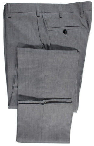Tavola by Vigano – Light Gray Tropical Wool Pants, Super 130s - PEURIST