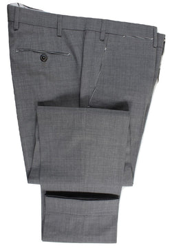 Vigano – Light Gray Lightweight Wool Pants - PEURIST
