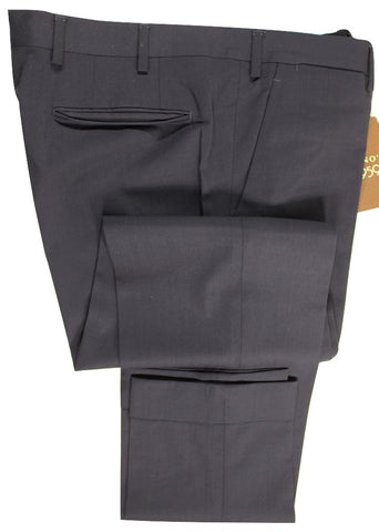 Vigano – Navy Lightweight Wool Pants - PEURIST