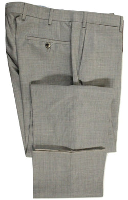 Vigano – Light Gray Four Season Wool Pants - PEURIST