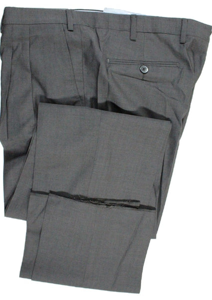 Covo by Vigano – Dark Gray Lightweight Wool Pants w/Pleat