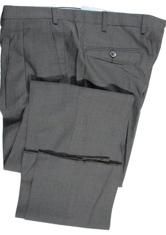 Covo by Vigano – Dark Gray Lightweight Wool Pants w/Pleat - PEURIST