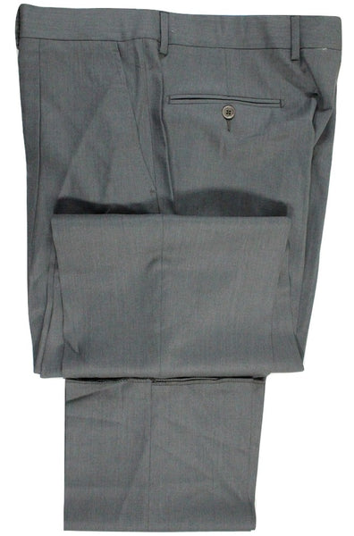 Vigano – Dark Gray Lightweight Wool Pants w/Pleat