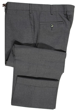 Old English by Vigano – Charcoal Four Season Wool Pants - PEURIST