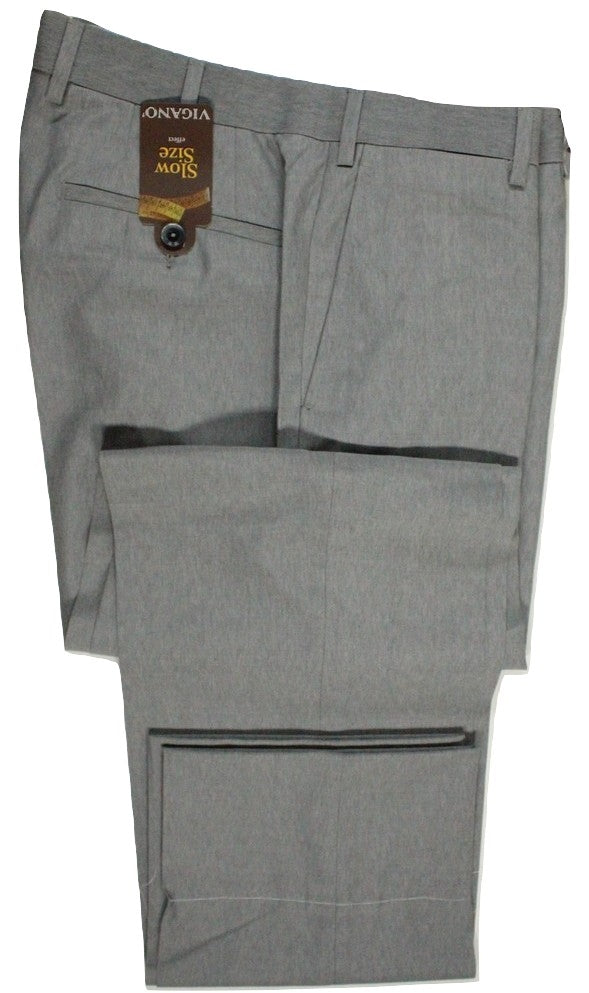 Vigano – Light Gray Super 150's Wool Pants - PEURIST