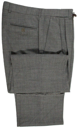 Vigano – Gray Lightweight Wool Pants in Loro Piana - PEURIST