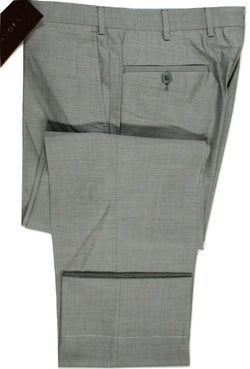 Vigano – Light Gray Wool/Silk Pants - PEURIST