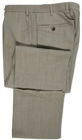 Vigano – Light Brown Wool/Mohair Pants - PEURIST