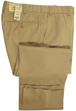 Paul Stuart – Dark Khaki Washed Chinos - PEURIST