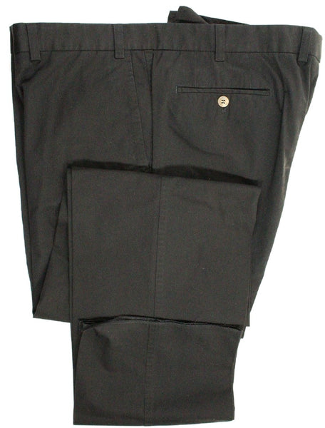 Paul Stuart – Black Washed Cotton Pants - PEURIST