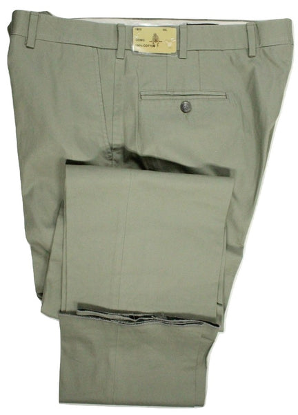 Paul Stuart – Light Taupe Lightweight Cotton Pants - PEURIST