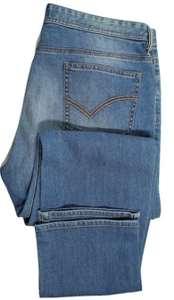 Paul Stuart – Faded Blue Denim Jeans - PEURIST