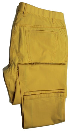 Paul Stuart – Yellow Cotton Five Pocket Pants