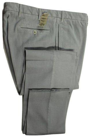 Phineas Cole by Paul Stuart – Light Gray Cotton Moleskin Pants