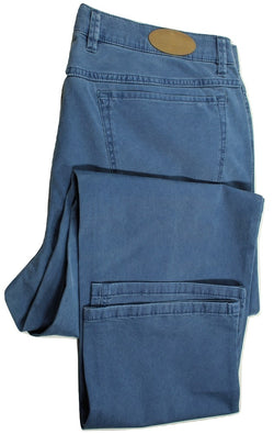 Paul Stuart – Mid-Blue Chambray Five Pocket Pants
