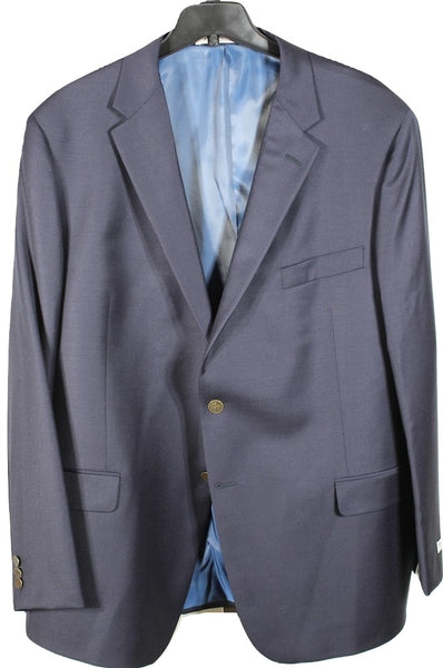 Hickey Freeman – Navy Worsted Wool Blazer