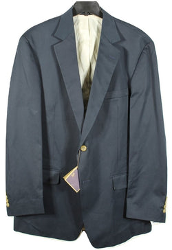 Bills Khaki's – Navy Cotton Twill Blazer