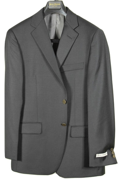Hickey Freeman – Black Worsted Wool Blazer