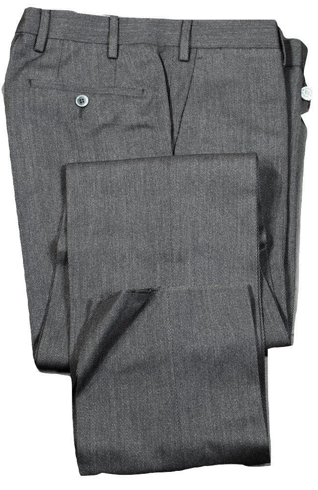 Mettez Paris – Dark Gray Worsted Wool Pants