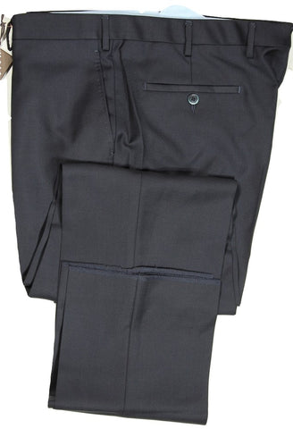 Vigano – Navy Wool Twill Pants