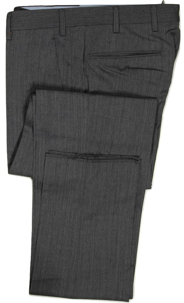 Vigano – Charcoal Four Season Wool Pants, Super 120's
