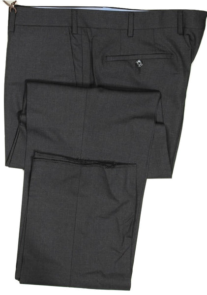 Vigano – Charcoal Wool Pants, Super 120's