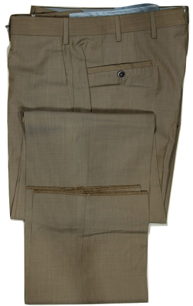 Vigano – Beige Wool Pants, Super 130's