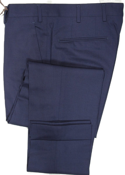 Vigano – Navy Four Season Wool Pants (Slim)