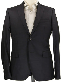 Royal Hem - Gray 3-Roll-2 Wool Blazer