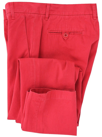 Band of Outsiders - Faded Red Cotton Chinos